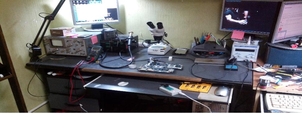 Проводим компонентный ремонт техники на любом уровне сложности